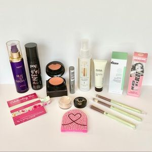 Makeup bundle! Some used once most New!